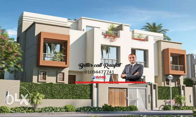 Twin House For Sale With Installments At Cairo Festival City