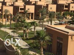 Twin villa in October Princess compound facing AlFutaim Mall of Egypt