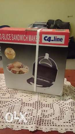 Toaster and Sandwich maker new and sealed