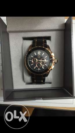 GC watch goldXblack