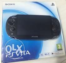 ps vita 3G with 6 games and memory card 4 giga