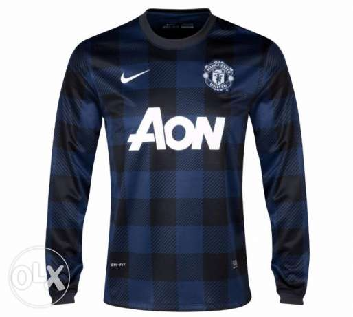 Nike man united football tshirt navy long sleeve XL القاهرة -  1