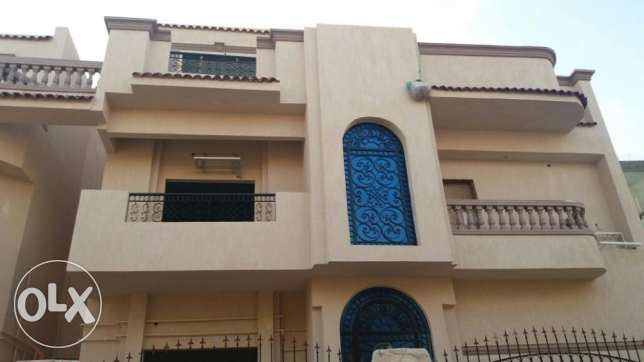Separate villa for sale 5th installment مصر الجديدة -  5