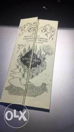 The Marauder's Map - Harry Potter