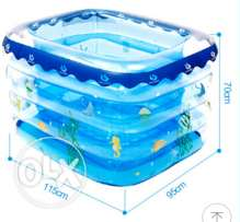 baby swimming pool(portable, gas filled) swimming anywhere