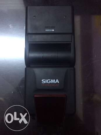 Sigma ef610 external flash as new