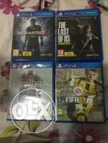 Bloodborne + the last of us ps4