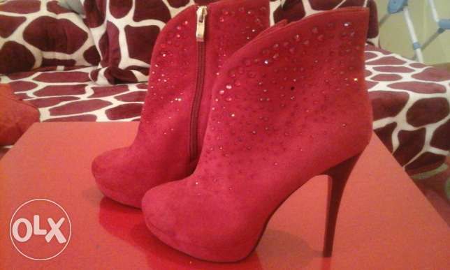 New Women Red Shoes size 39