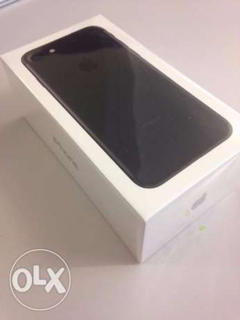 Iphone 7 - Black Matte - 128GB - Sealed - with facetime مدينة الرحاب -  1