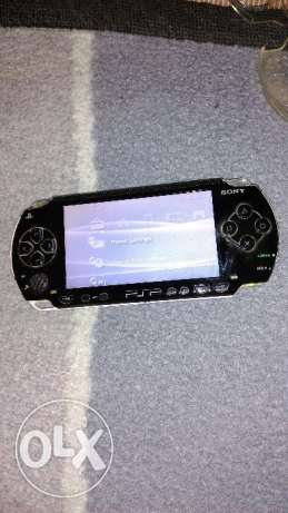psp sony black in a very good condition