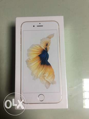 IPhone 6s 64GB gold sealed