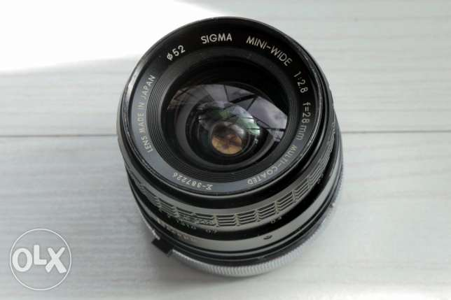 Sigma 28mm F2.8 for FD Mount