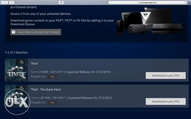 PSN UK Account Funded With £6.01 + Thief PS3