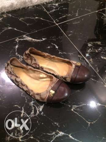 used coach original shoes in good condition