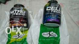 Supplement cell teach and nitro tech