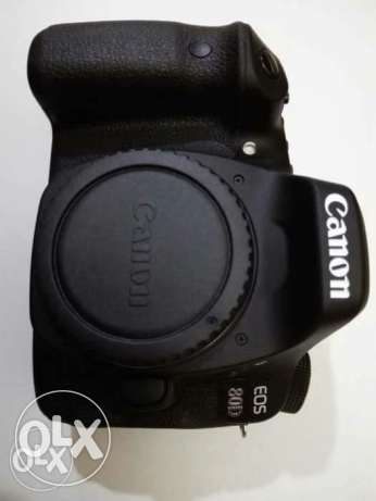 Canon80d with bag and memory card16giga