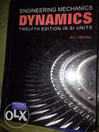 كتاب engineering mechanics dynamics twelfth edition in si units وسط القاهرة -  2