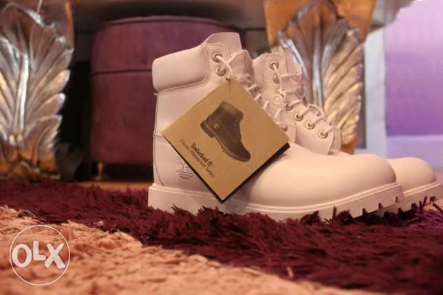 Timberland White Boots First Copy