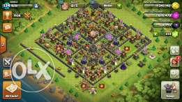 Clash of clan account th 11 almost max