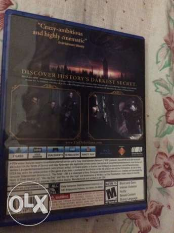"PS4 game "" THE ORDER 1886 "" / barely used / region all (USA)"