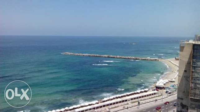 Appartment sea view fully furnished for rent for long period