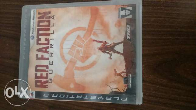 لعبة red faction ps3