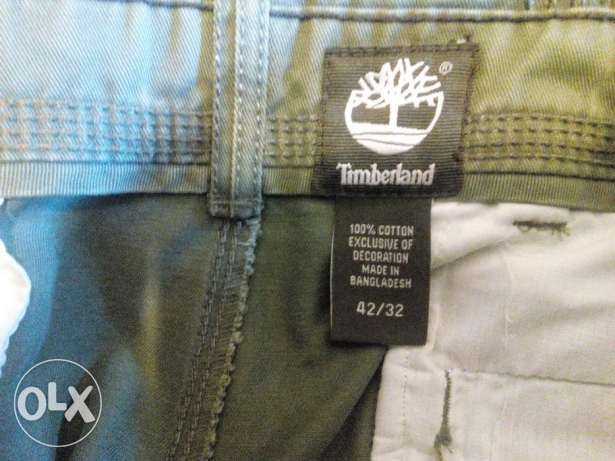 بنطلون تمبرلاند وبولو مقاس 42 Timberland and Polo Ralph Lauren pants