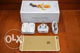 للبيع iphone 6S plus gold