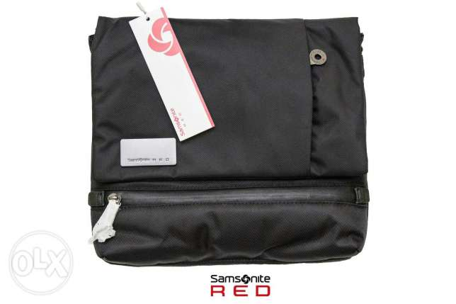 Samsonite red crossbag