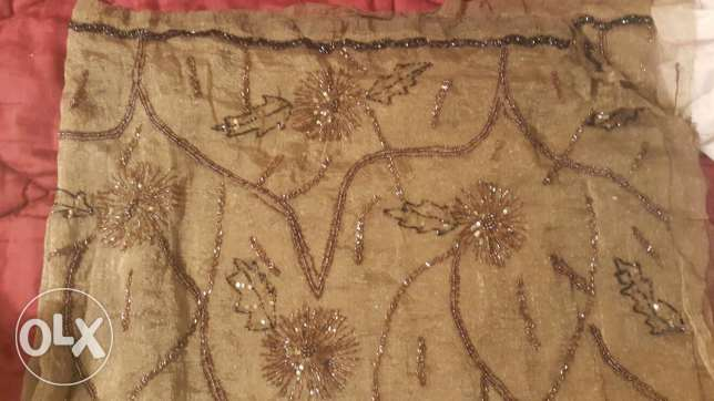 Embroidered Indian Organza garment