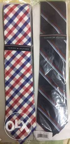 2 Authentic Tommy Hilfiger ties for sale الشيخ زايد -  1