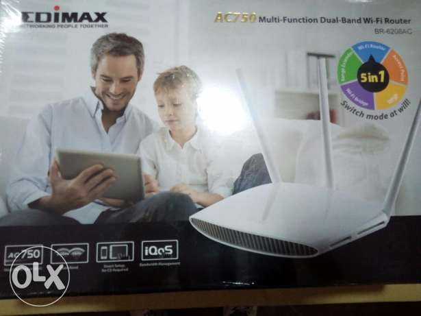 router edimax ac750 multi-function dual-band wi-fi router