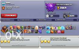 clash of clans hall 10 for sale 600