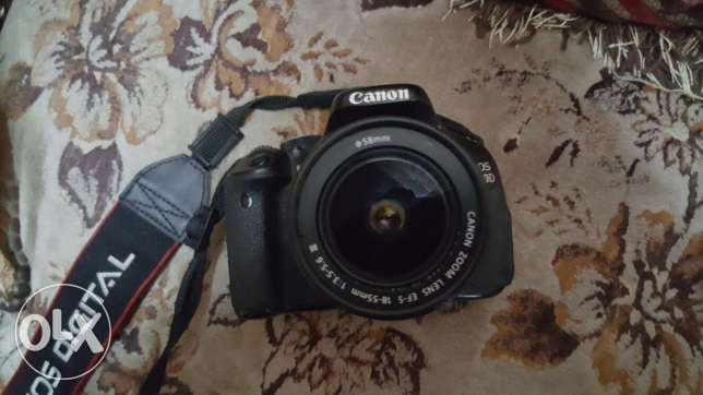 Canon 600D with 18/55