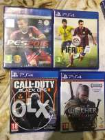pes 16 - fifa 16 - call of duty black ops - witcher 2016
