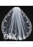 Wedding Tulle and Lace Bridal Veil