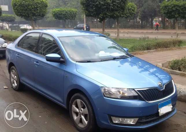 إسكودا رابيد هاي لاين 2015 Skoda Rapid Highline