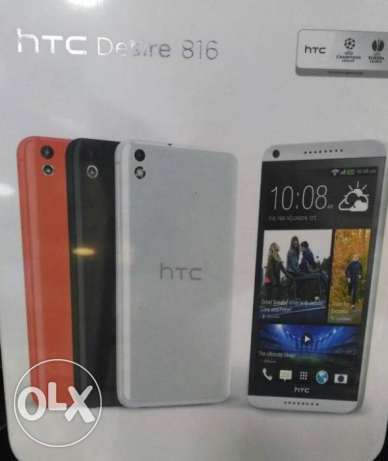 HTC Desire 816(8GB)..White&Black[دولي]