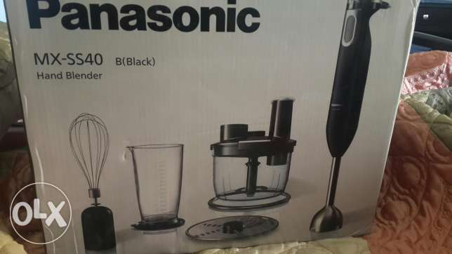 New Kichen machine Panasonic with hand blender