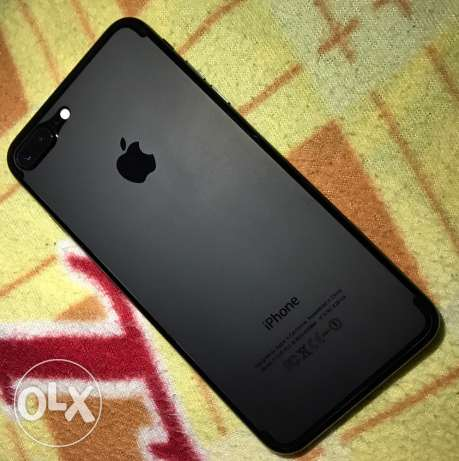 iphone 7 plus 128 GB jet black