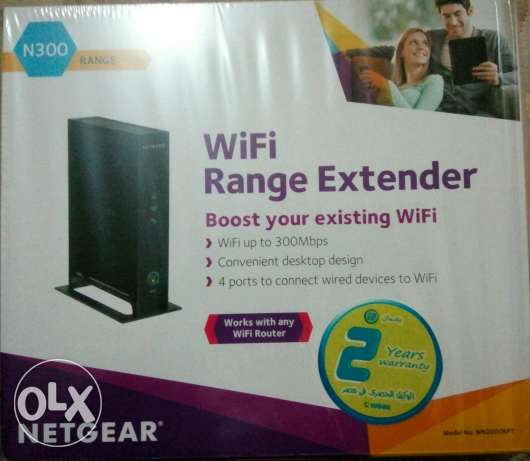 Netgear WiFi range extender + Access point