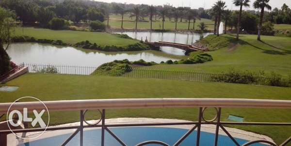 Standalone villa for sale in Mirag semi finished lakes and golf view