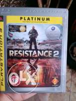 PS3 platinium Resistance 2 good condition
