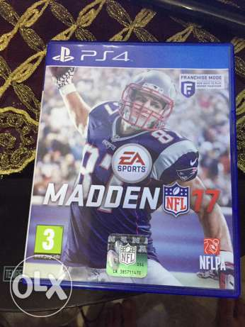 madden17 cd ps4