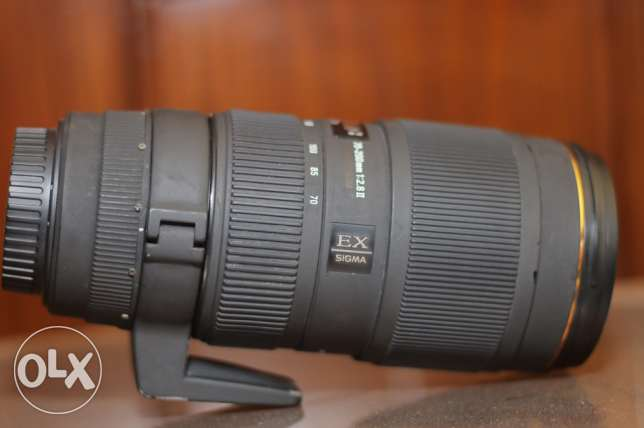 70-200 sigma for canon vii