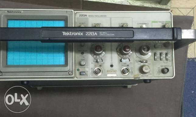 Oscilloscope Tektronix 2213A Analog 60 MHz USA أوسيلوسكوب حى الجيزة -  3