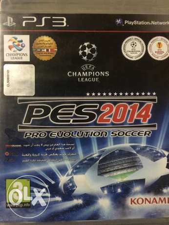 pes 2014 for PS3 used الوراق -  1