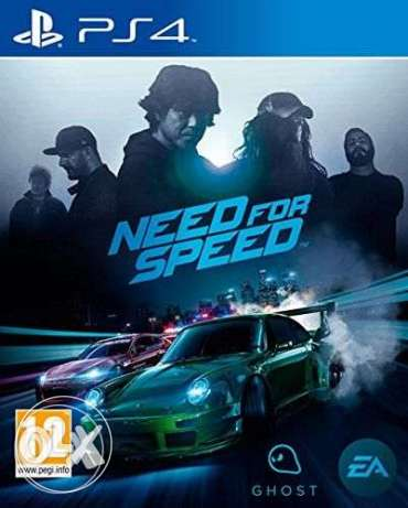 Need For Speed by Electronic Arts for Playstation 4 - Open Region