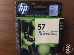 Hp Tri-color Inkjet Print Cartridge {57} - HP خرطوشه حبر اصليه