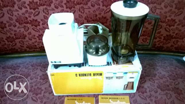 moulinex mixer brand new in box made in france
